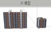 住宅楼建筑模型