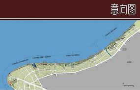 滨江景观彩平图
