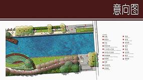 河道景观规划平面