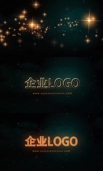 两款粒子LOGO片头AE模板