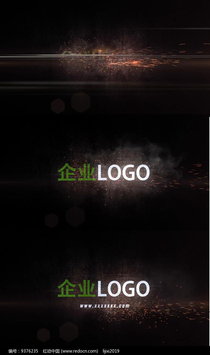 震撼开场logo片头AE模版图片