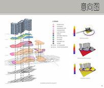 高层建筑分析排版