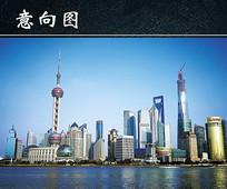 上海东方明珠风景