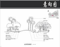 深圳某不规则小区大草坪剖面