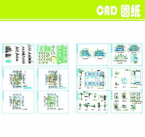 小型别墅建筑设计图纸