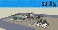 庄园建筑模型