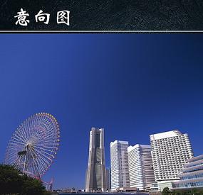 城市景观高大建筑