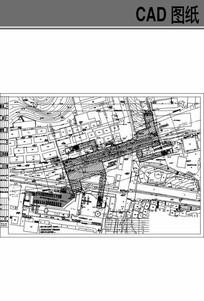 地铁平面规划设计 dwg