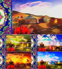 歌曲Flowers背景视频