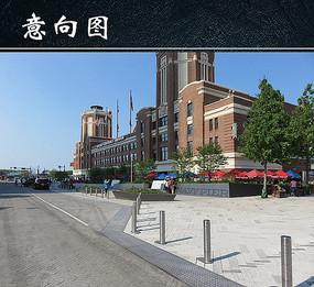 海港广场地面铺装