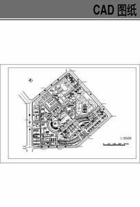 某居住区规划图