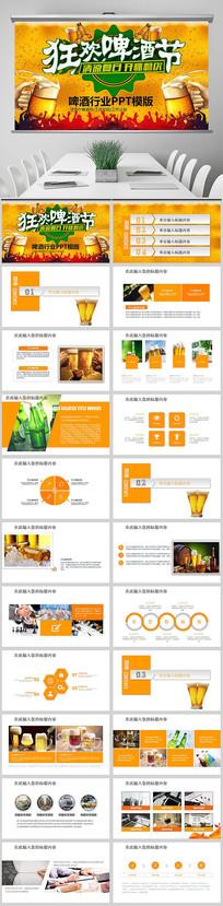 啤酒饮料啤酒行业工作ppt
