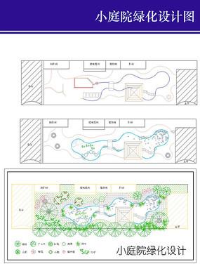 小庭院绿化设计图