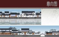 小镇建筑立面设计
