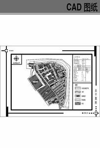 小镇总平面规划图