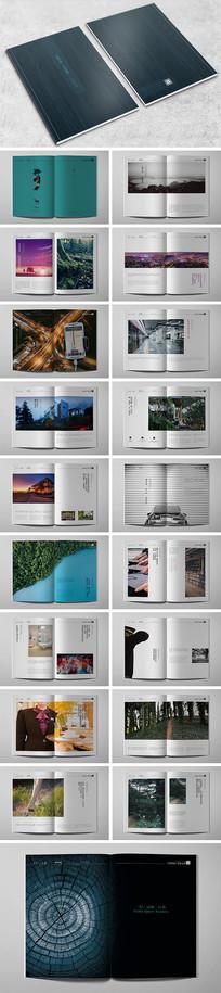 大气楼书画册设计