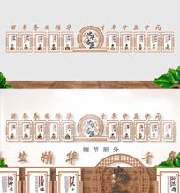 中医十大名医文化墙