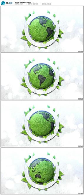 地球旋转视频素材