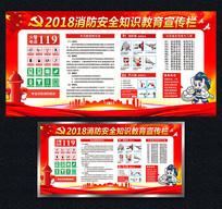 2018消防知识教育宣传栏