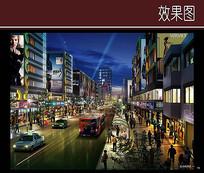 城市商业景观效果图 JPG