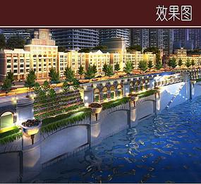 江滨路城市景观效果图