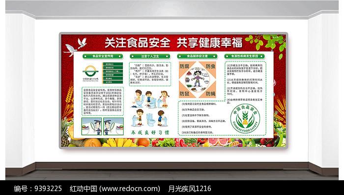 食品饮食健康安全教育宣传栏减脂增肌到此为止图片