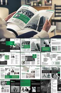创意商务企业画册模板