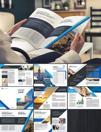 建筑企业公司画册模板