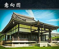 日本特色建筑图