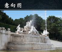 维也纳喷泉图 JPG