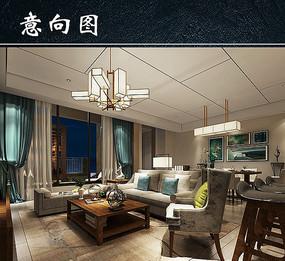 温馨家居客厅