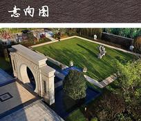 小区绿地公园景观设计