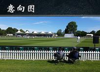 新西兰板球场木质围栏
