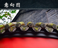中国传统建筑图