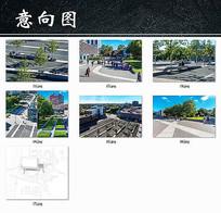 繁华城市广场景观设计