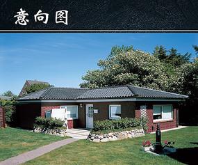 高清别墅建筑图