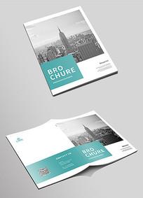 简洁企业画册封面设计模板