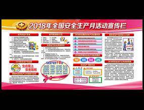 社区2018安全生产月展板