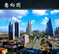 现代城市道路高清图