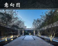 中式景观设计