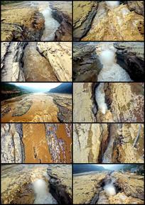 6分航拍黄河壶口瀑布视频素材