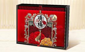 颂福月饼礼盒包装