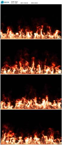 带透明通道火焰视频素材