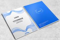 企业分层画册封面设计