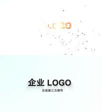 企业时尚LOGO片头AE模板