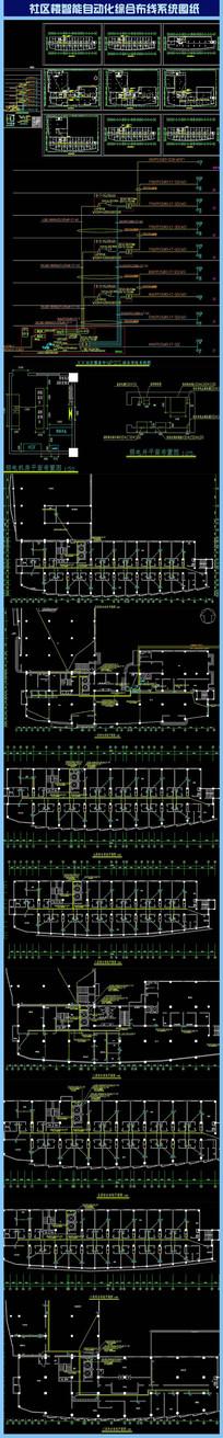 社区楼智能自动化综合布线系统