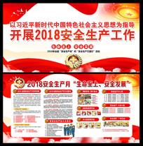 2018年安全生产月宣传展板