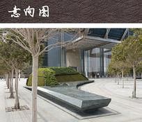 办公街区树池座椅 JPG
