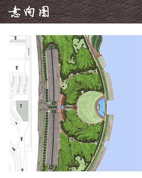 滨水露天剧场平面图图片