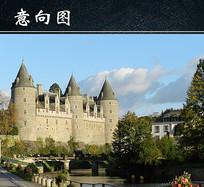布列塔尼城堡图 JPG